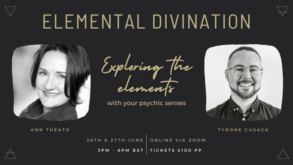 ELEMENTAL DIVINATION - Saturday June 26 & Sunday June 27